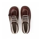 Kickers KICK HI Mens Leather Boots Dark Red