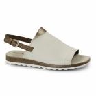Hush Puppies NANNETTE JADE Ladies Flat Sandals White