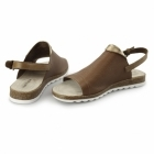 Hush Puppies NANNETTE JADE Ladies Flat Sandals Tan