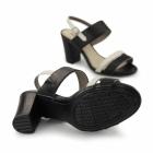 Hush Puppies MOLLY MALIA Ladies Heeled Sandals Black