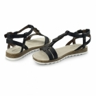 Hush Puppies BRETTA JADE Ladies Flat Sandals Black