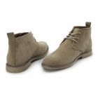 Charles Southwell PANAMA Mens Faux Suede Desert Boots Beige