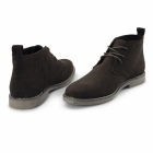 Charles Southwell PANAMA Mens Faux Suede Desert Boots Brown