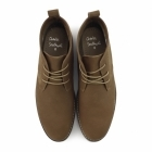 Charles Southwell PANAMA Mens Faux Suede Desert Boots Tan