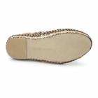 Base London AZTEC WEAVE Mens Leather Woven Sandals Tan