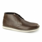 Red Tape CRUMLIN Mens Leather Chukka Boots Tan