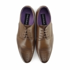 Charles Southwell CROMPTON Mens Pointed Brogues Tan