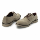 Charles Southwell NASHVILLE Mens Faux Suede Lace Up Desert Shoes Beige