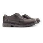 Cat ® CASON Mens Leather Smart Shoes Mulch