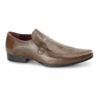 Red Tape MALAGO Mens Leather Pointed Shoes Tan