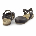 El Naturalista NF41 Ladies Leather Halterback Sandals Brown