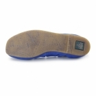 El Naturalista N961 Ladies Leather Flat Shoes Antique Bluing