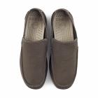 Crocs SANTA CRUZ CLEAN CUT Mens Canvas Loafers Espresso
