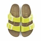 Birkenstock ARIZONA Ladies Buckle Sandals Neon Yellow