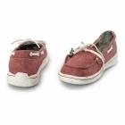 Hey Dude MOKA CLASSIC Ladies Slip On Shoes Tangerine
