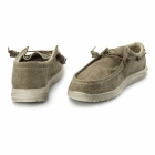 Hey Dude WALLY CLASSIC Mens Wide Fit Shoes Nut