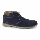 Chatham TOR Mens Suede Leather Desert Boots Navy