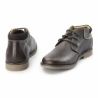 Chatham TOR Mens Leather Desert Boots Dark Brown