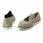 Chatham AMBICA Mens Suede Leather Loafers Tan