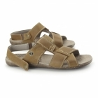Hush Puppies MARCUS FRAME Mens Leather Sandals Tan