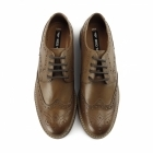 Red Tape MEATH Mens Leather Lace Up Brogue Shoes Tan