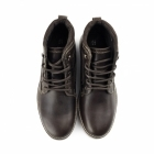 Red Tape REELAN Mens Leather Ankle Boots Brown