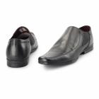 Red Tape HEDDON 2 Mens Leather Gusset Shoes Black