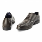 Red Tape KILDARE Mens Leather Oxford Brogues Brown