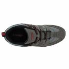 Hi-Tec QUADRA CLASSIC Mens Walking Shoes Charcoal/Black/Red
