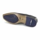 Azor PADOVA Mens Leather Oxford Shoes Black