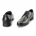 Azor GIORGIO Mens Leather Derby Brogues Black