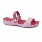 Crocs CORETTA Ladies Croslite Mule Sandals Carnation/Raspberry