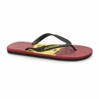 Jack & Jones JJOLYMPIC Mens Toe Post Flip Flops Barbados Cherry