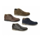 Chatham TOR Mens Leather Desert Boots Red Brown