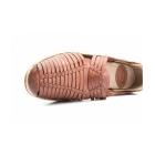 Base London GLASTO WEAVE Mens Leather Woven Sandals Tan