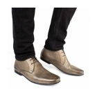 Base London ORBIT Mens Softy Leather Boots Grey
