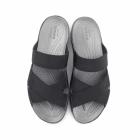 Crocs ANNA SLIDE Ladies Mule Sandals Black/Graphite