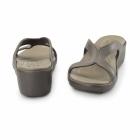 Crocs SANRAH WEDGE Ladies Sandals Espresso/Walnut