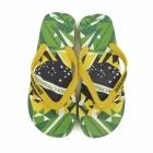 Jack & Jones JJOLYMPIC Mens Toe Post Flip Flops Fern Green