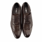 Azor MESSINA 2 Mens Leather Oxford Brogues Brown