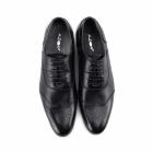 Azor MESSINA 2 Mens Leather Oxford Brogues Black