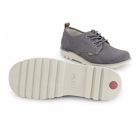 Kickers KICK LO SUMA Mens Lace Up Shoes Grey
