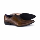 Gucinari ROSSI II Mens Cuban Heel Shoes Tan