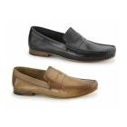 Gucinari NUMANA Mens Leather Penny Loafers Tan