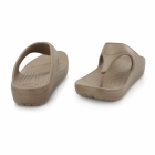 Crocs SLOANE FLIP Ladies Toe Post Platform Flip Flops Bronze