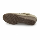 Natrelle BRONTE Ladies Velcro Mary Jane Shoes Beige