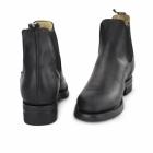Grinders JODHPUR Unisex Leather Chelsea Boots Black