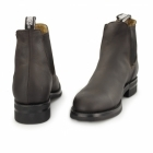 Grinders JODHPUR Unisex Leather Chelsea Boots Brown