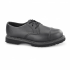 Grinders REGENT CS Unisex Steel Toe Derby Shoes Black