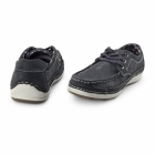 Chatham RUBBLE Mens Nubuck Lace Up Shoes Navy